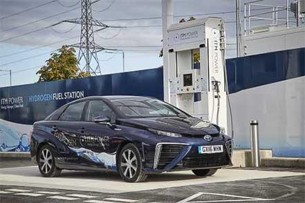 Hydrogen-police-car