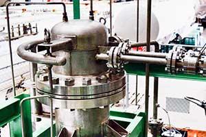 Biogas-hydrogen-graphite