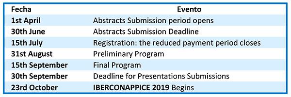 Calendar-table-Iberconappice-2019