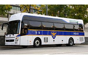 policia-Corea-bus-Hyundai